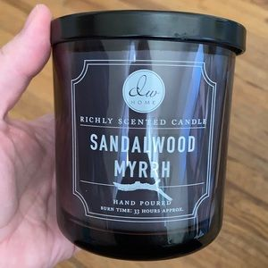 DW Home Sandalwood Myrrh Hand Poured Candle
